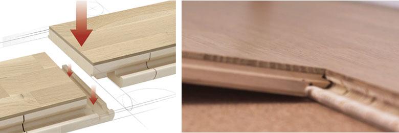 帕克个性三拼系列地板的产品优势