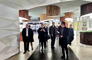 国际访问 对话绿色 | 欢迎瑞典政府代表团莅临世友总部考察!
