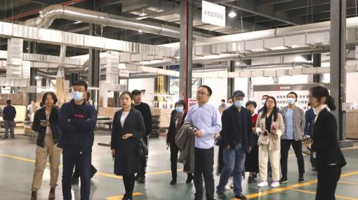 共携手 齐向上 | 热烈欢迎国家木竹产业技术创新战略联盟专家委员莅临世友地板